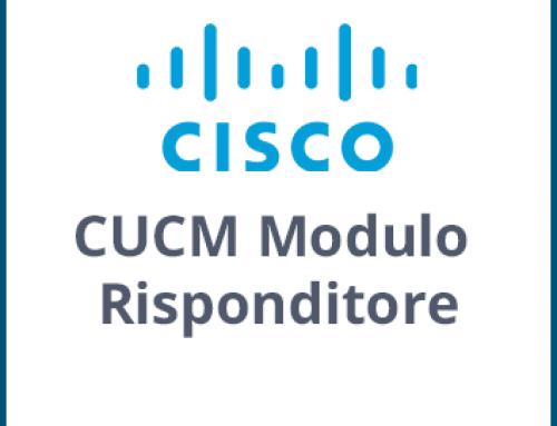 CUCM Modulo Risponditore