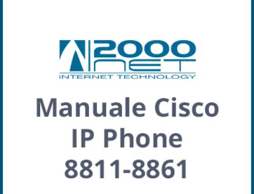Manuale Telefono Cisco IP Phone 8811-8861