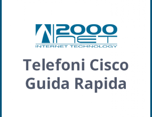 Manuali Telefoni Cisco IP Phone Guida Rapida